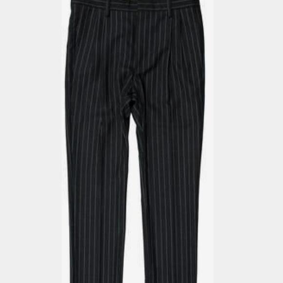 Express Pants Mens Black Dress Pinstripes Poshmark